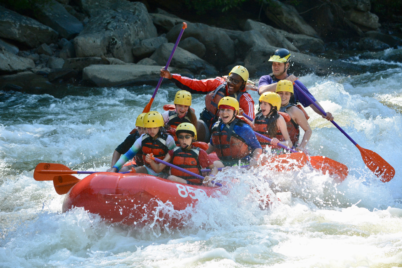 Rafting Upper Yough